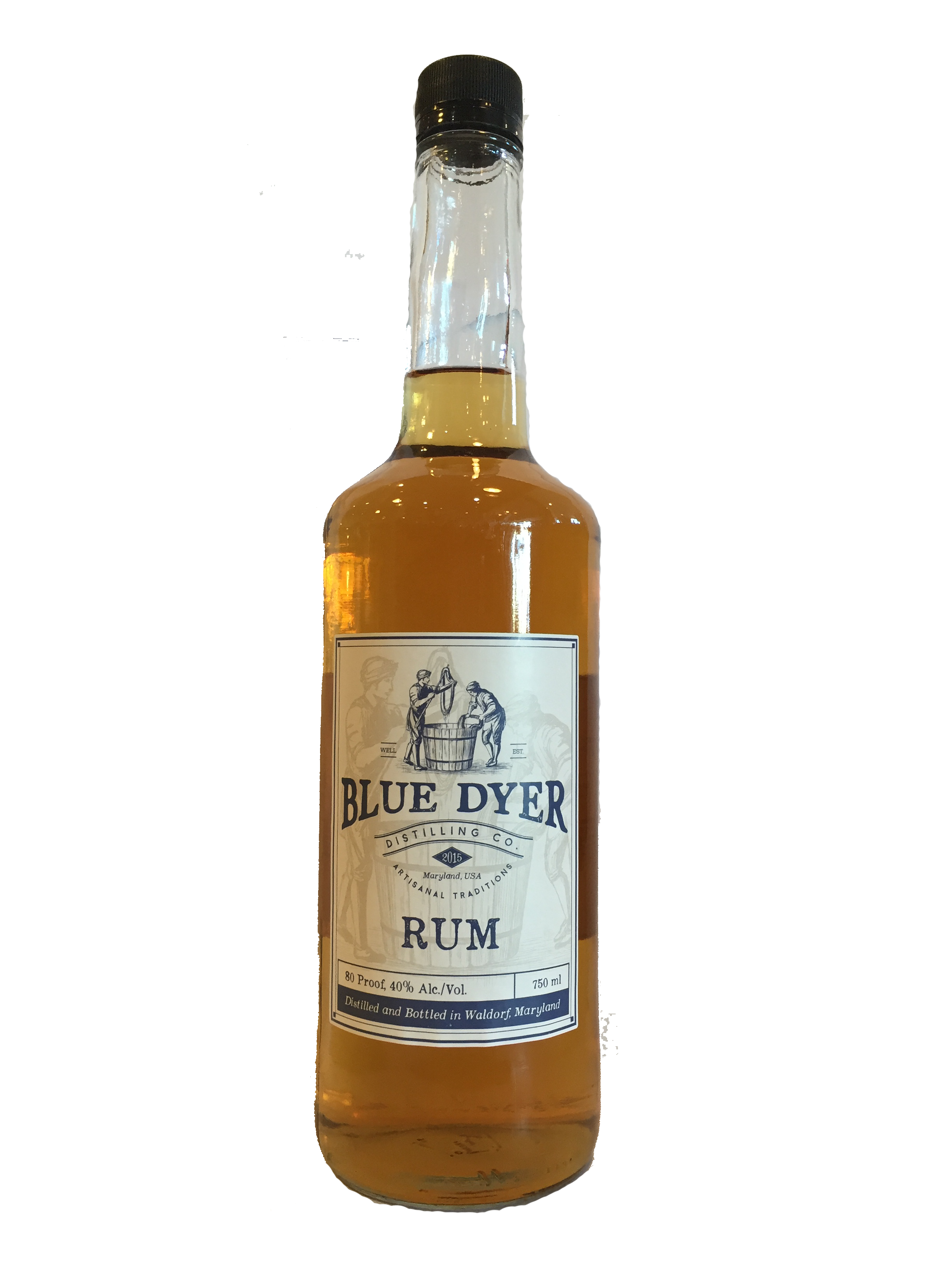 Blue Dyer Rum @ Mills Fine Wine & Spirits | Annapolis | Maryland | United States