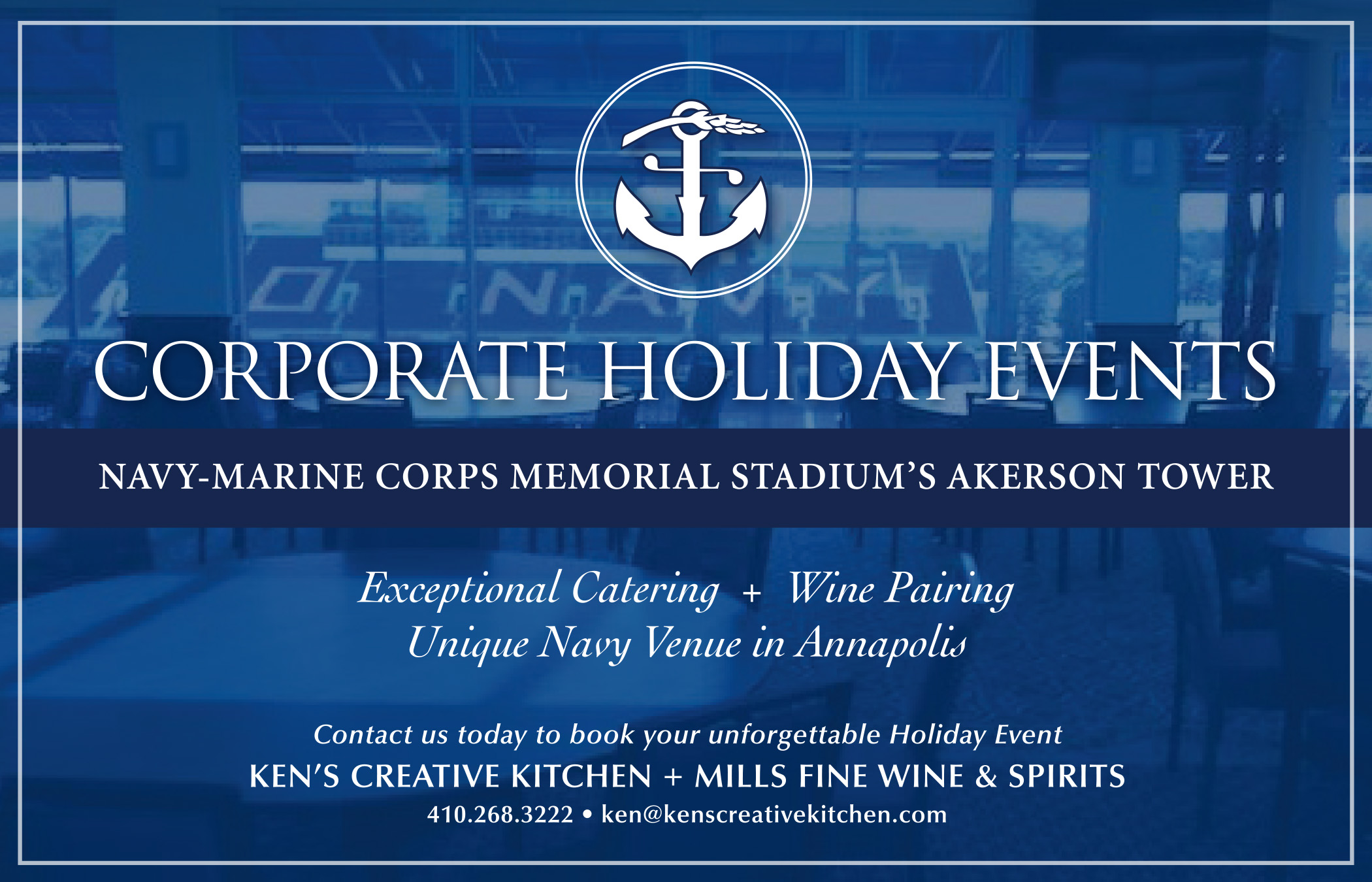 Holiday Parties at Akerson Tower @ Navy Marine Corps Memorial Stadium | Annapolis | Maryland | United States
