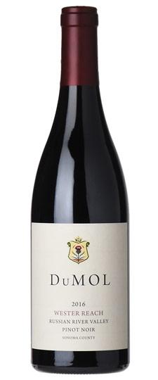 Dumol 2016 Wester Reach Pinot NoirRussian River Valley, California ...